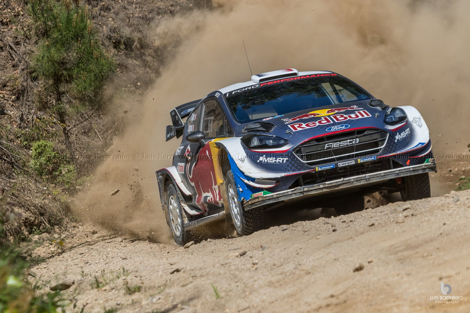 Jornada de Tests Elfyn Evans - Daniel Barritt ( Ford-MSport )